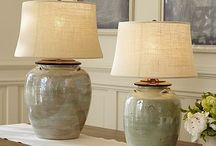 Table lamps ceramic