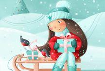 Winter illustration