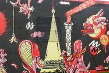 "Yok & Sheryo Conquering the Miami Art Basel / ""Flamingo Portal"" by street artists Yok & Sheryo"