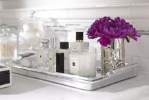 Bathroom Trays / How to style your make-up