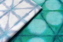 folding shibori