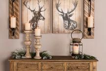 Cabin & Deer themed room