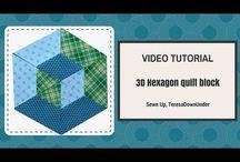 hexagon 3 D
