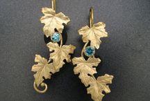 Blue Zircon stones and jewellery