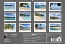 Meine Kalender/Planer 2018 (englisch, französisch) / Meine eigenen Kreationen - Fotokalender und -planer für 2018 (englisch, französisch) mit Vorschau aller 12 Monate zu den Themen: Länder & Reise, Natur