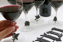 Wine charms DIY