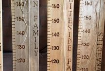 Grandad Pat's Wooden Height Charts Australia / Each height chart is individually made to your requirements!