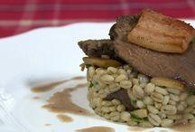 Mâncare cu carne de vanat