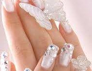 Calcomanías en uñas