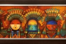 """Ki Tokahe Oyate"" / Lakota translation for ""The First People"" / by Colleen Stefonowicz"