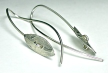 Wire Earrings / Metal work jewelry using 20 gage wire.  Mostly sterling. / by Foy Joy