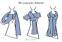 Mode / Tücher binden