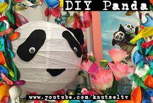 Panda knutsels / De nieuwe KungFu panda film is uit op DVD en Blu-ray! We hebben ons laten inspireren door de panda familie en maken toffe panda knutsels!