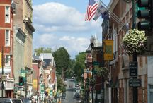 Small towns in America / by Hello Kitty