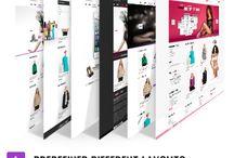 Websites: E-Commerce Themes