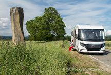 Camping and caravanning / Pictures with camping, caravan or mobilhome. I'm a member of the Dutch jury Caravan of the Year and publisher in camping magazines.