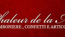 Chaleur de la Maison / Articoli da regalo, casalinghi, lista nozze e convivenza, bomboniere e confetti. via Garibaldi 71 San Secondo p.se (PR)