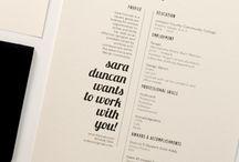 Creative CV ideas