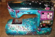 Sewing Machines- Decorated