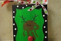 Christmas Pre-school crafts / by Ness