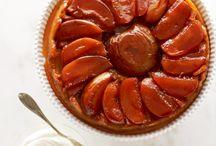 Tartes tatins / Impossible d'aborder les recettes aux pommes sans vous donner un panorama des réalisations de tarte tatin ! Un des piliers quand on arrive aux desserts, la tarte tatin est un classique qui séduit à tous les coups !