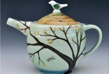 Tea Anyone?/Artistic Pots / Teapots and cups that are created by hand either in design or by Artists.