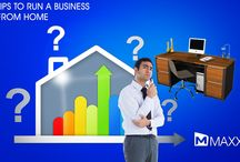 Tips to run a business from home / - Now a Days more number of peoples starting business from home - Set yourself small milestones then slowly grow your goals as your business grows....http://maxxerp.blogspot.in/2014/02/tips-to-run-business-from-home-now-days.html