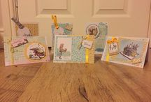 My card makes / Cards that I have made
