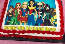 Edie and Bella's birthday party list