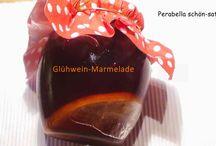 Marmelade, Gelee und Co.