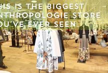 Anthropologie Store