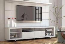 estantes de TV