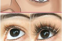 Eyelashes growth