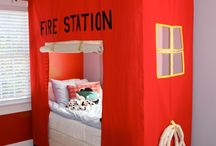 Decoration ~ Fireman Room
