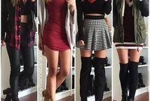 combinación de ropa