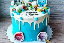 Оформление детских тортов