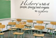 History ideas for class rooms