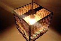 lampy z kartonu