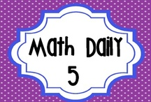 School Goodies-Daily 5 Math / by Lisa Nassar