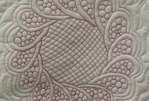 Quilts with beautiful quilting designs / by Pat Adkins