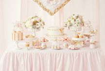 Pink/Gold Inspiration / by Pearl Cakes+Events
