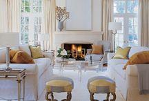 symmetrical living rooms