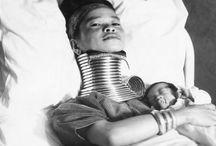 Kayan long neck history images
