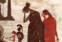 Children's Book Illustrations - Greek project / Inspiration for Greek children's book