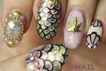 Inspiration / nail art,make up,diy inspiration
