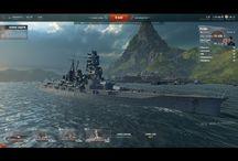 Линкоры Японии World Of Warships / Мои первые работы, простенькие обзоры с ЗБТ WOW.