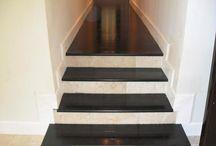 escaleras negras