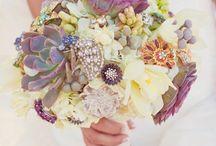 Brouch Flower