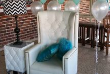 Tiffany themed baby shower / Creating a amazing baby shower for my niece was a joy to do please enjoy my pics