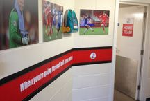 Stadium Signage | Xtreme Signs / Stadium-Signage offer a wide range of services from creative design, manufacture and installation for all types of signage for all types of sports venues, grounds and vehicles | Xtreme Signs
